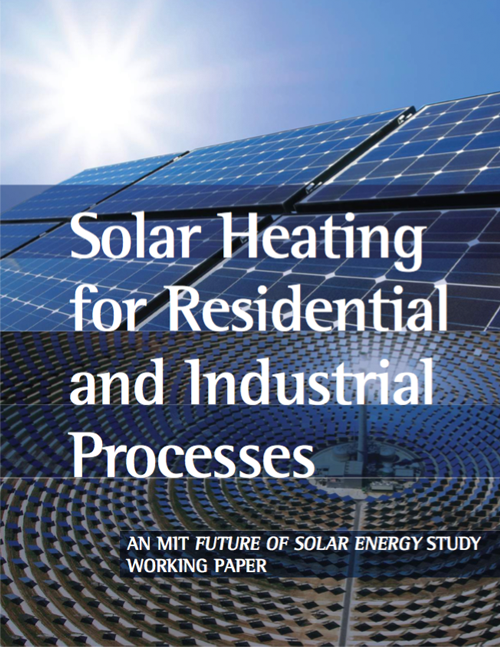 Solar Heating for Residential and Industrial Processes | MIT Energy