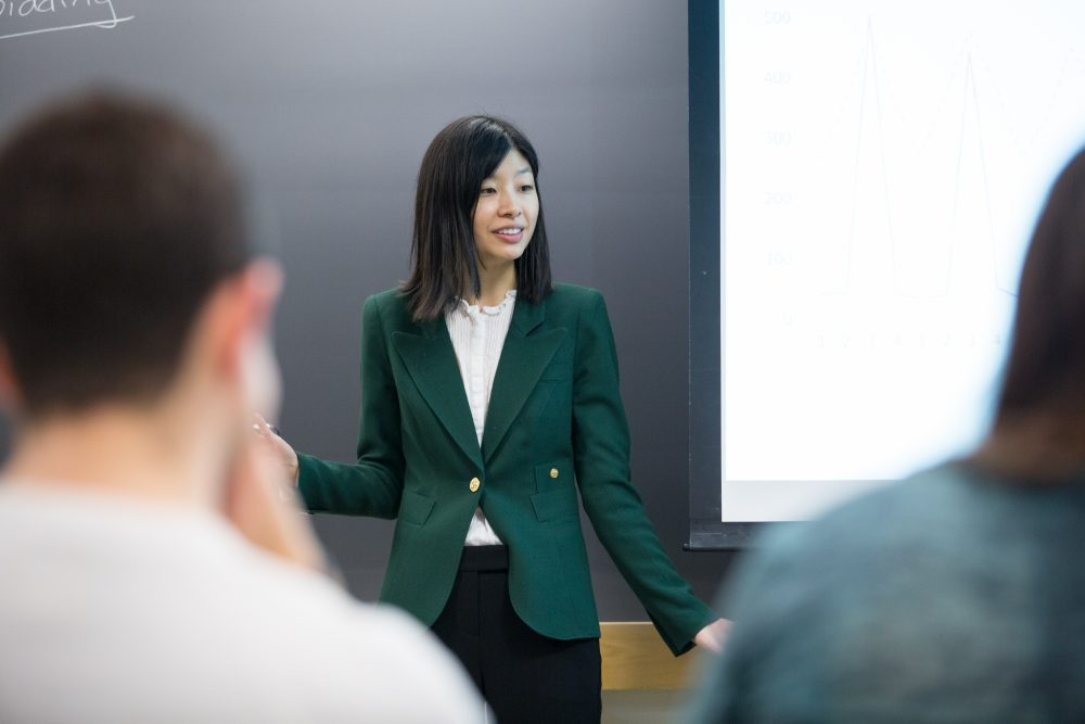 Jing Li, assistant professor of applied economics at MIT.r