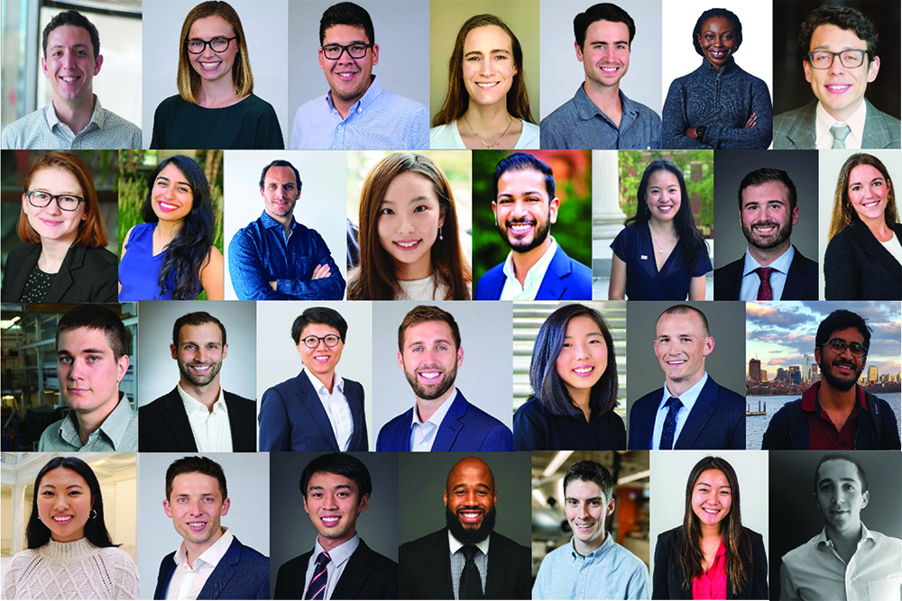 The 2020 MIT Energy Conference organizers.